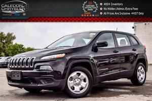 2016 Jeep Cherokee NEW Car|Sport|Cold Weather Group|Bluetooth|Ba