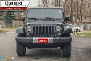 2015 Jeep Wrangler Sahara/MANUAL/ NAVIGATION/  HARDTOP Kitchener / Waterloo Kitchener Area image 3