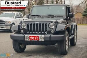 2015 Jeep Wrangler Sahara/MANUAL/ NAVIGATION/  HARDTOP Kitchener / Waterloo Kitchener Area image 2