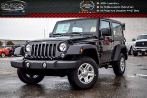 2017 Jeep Wrangler New Car Sport|4x4|HardTop|Aircondition|Temp C