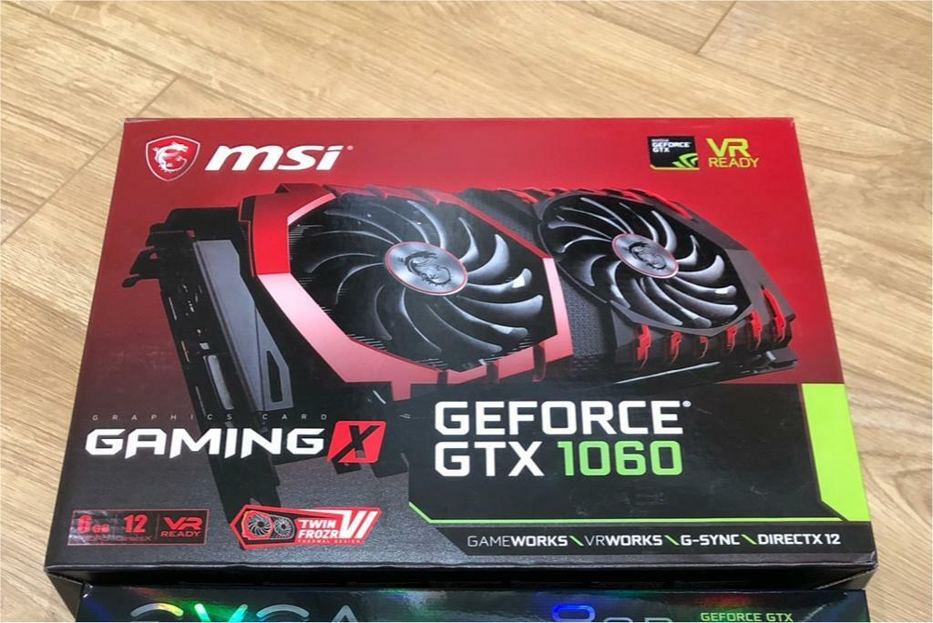 MSI NVIDIA GeForce GTX 1060 GAMING X 6 GB GDDR5 Memory PCI Express 3 0  Graphics Card - Black | in Hendon, London | Gumtree