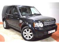 LAND ROVER DISCOVERY 4 3.0 SDV6 GS AUTO 7 Seater Leather 245 BHP (black) 2011