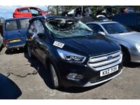 2017 FORD KUGA TITANIUM 1.5 TDCI MANUAL BREAKING