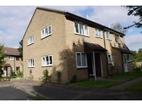 1 bed UNFURNISHED house with parking, gas central heating, garden and small shed
