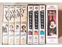 FREE VHS Tapes (including FAWLTY TOWERS, FRIENDS, BLACKADDER boxsets)