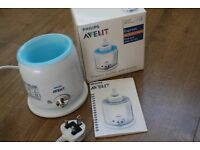 PHILIPS AVENT EXPRESS BOTTLE AND BABY FOOD WARMER