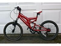 "Red 20"" Muddyfox Zeus Mountain Bike"