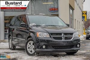 2015 Dodge Grand Caravan CREW|LEATHER|POWER DOORS|DVD|