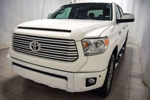 2017 Toyota Tundra 4X4 CREWMAX PLATINUM, Cuir, Navigation, Syste
