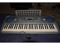 Yamaha PSR 275 full size touch sensitive electronic keyboard - Excellent condition - bargain