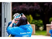 Volunteer marshals and checkpoint staff needed for charity bike ride
