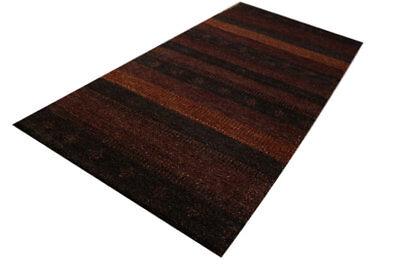 Modernen Twist ( Teppich Gabbeh Brücke Twist Handgeknüpft 70x140 cm 100% Wolle braun meliert )