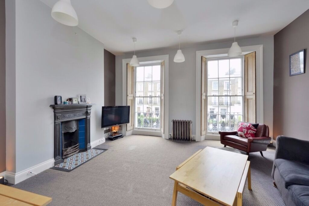 ALBERT STREET, NW1: 2 DOUBLE BEDROOM MAISONETTE, PRIVATE ROOF TERRACE, NEWLY RENOVATED, FURNISHED