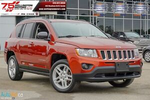 2012 Jeep Compass Limited | NO ACCIDENTS | BLUETOOTH | PWR SUNRO