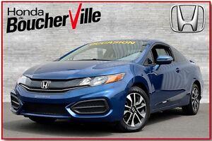 2015 Honda Civic EX  Coupé Garantie 130,000km ou mai 2022