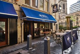 Assistant Manager for high profile city centre bar and bistro an
