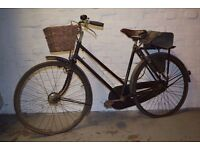 VINTAGE 'BROOKS' BICYCLE (DELIVERY AVAILABLE)