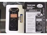 Tascam DR-05 Linear PCM Recorder (Version 2)