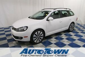 2013 Volkswagen Golf Sportwagon 2.5L/SUNROOF/HTD SEATS