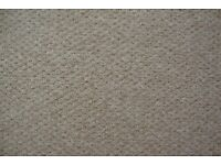 Carpet strip beige, felt back, brand new.