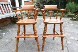 Child's Chair/Stool x 2