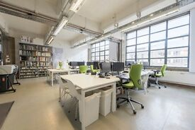 Spitalfields E1 - 7 Desk Spaces in a Bright, Architecture Office with Huge Windows & Spacious Views