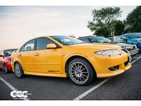 2002 MAZDA 6 SPORT 2.3l, Canary Mica Yellow. £1,499 O.N.O