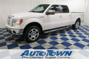 2010 Ford F-150 Lariat 4x4/ACCIDENT FREE/LEATHER/BACKUP SENSOR