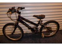 Girl's mountain bike (approx. 19 inch wheel size)
