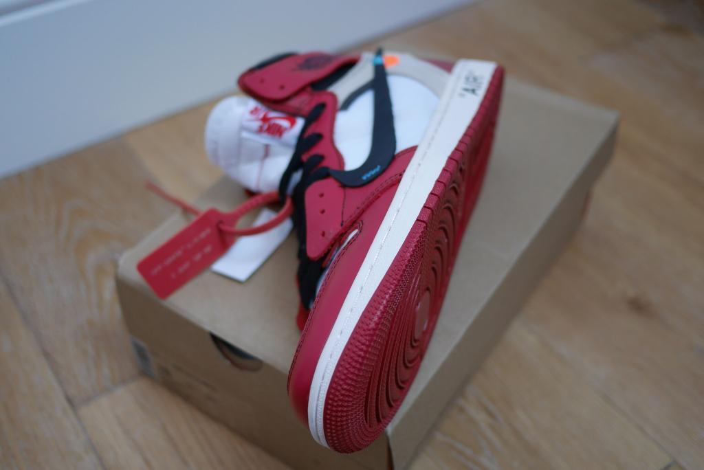 f8fe846720c1 Nike Air Jordan 1 x Off White x Chicago bulls Trainers For Sale