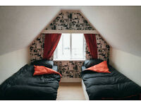 Double Room available £100 per week in newly opened Backpackers