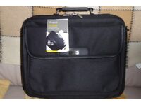 BRAND NEW Targus Notepac Clamshell Laptop Case, 15 - 16 inch, Detachable Shoulder Strap, Histon
