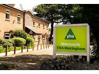 Fun and Flexible Volunteering with YHA Sheringham and YHA Wells-next-the-Sea