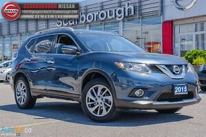 2015 Nissan Rogue SL-LOADED AND ACCIDENT FREE!!!!