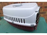 Pets At Home Roadrunner 2, Pet Carrier/Basket for Any Size Cat/Small Dog,Slots for Seat Belt,Histon