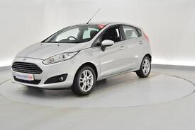 FORD FIESTA 1.25 82 Zetec 5dr (silver) 2015