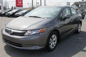 2012 Honda Civic LX*JAMAIS ACCIDENTER*UN SEUL PROPRIETAIRE*BAS K