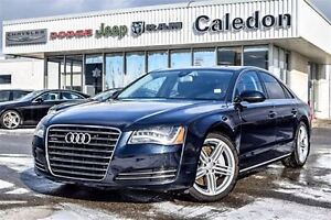 2012 Audi A8 Premium Quattro Sunroof Bluetooth Backup Cam Leath