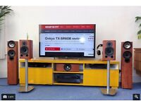 Surround system - Onkyo TX-NR609 AV receiver, KEFs and Wharfedale hifi speakers (Award winning)