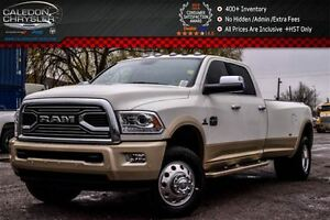 2017 Ram 3500 New Laramie Longhorn 4x4|Diesel|Navi|Sunroof|Backu