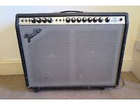 Fender Twin Reverb - recently serviced / all new valves