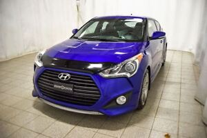 2013 Hyundai Veloster Turbo, Cuir, Toit ouvrant panoramique, Rou
