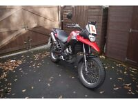 Derbi Terra 125 - Adventure-style ideal for taller riders, full service history, garage stored