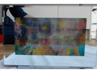 kids Fish Aquarium Light (looks like fish are swimming) Like New