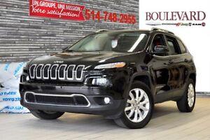 2014 Jeep Cherokee LIMITED 4X4 VUS TOIT PANO** CUIR**