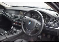 BMW 5 SERIES 2.0 520D EFFICIENTDYNAMICS 4 Door Saloon 181 BHP (black) 2013