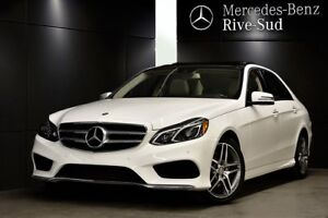 2016 Mercedes-Benz E-Class E400 4MATIC,Camera 360,Toit Panoramiq