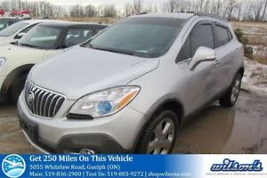 2015 Buick Encore AWD! LEATHER TRIM! REAR CAMERA! POWER SEAT! TO