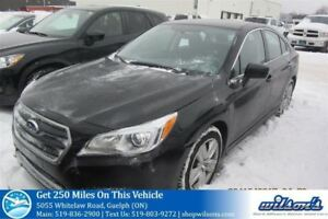2015 Subaru Legacy 2.5i AWD! HEATED SEATS! REAR CAMERA+SENSORS!
