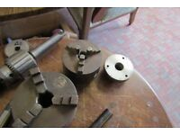 MYFORD ML8 LATHE 3 JAW CHUCK WOOD TURNING LUTON LOCATION